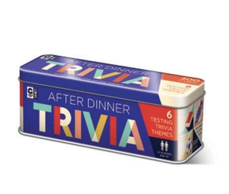 AFTER DINNER TRIVIA GAME