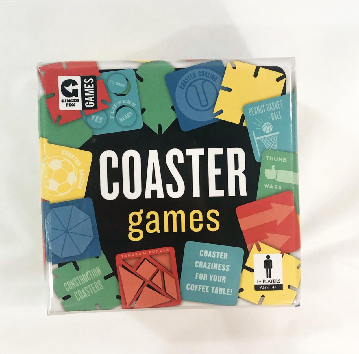GINGER FOX-Coaster Games