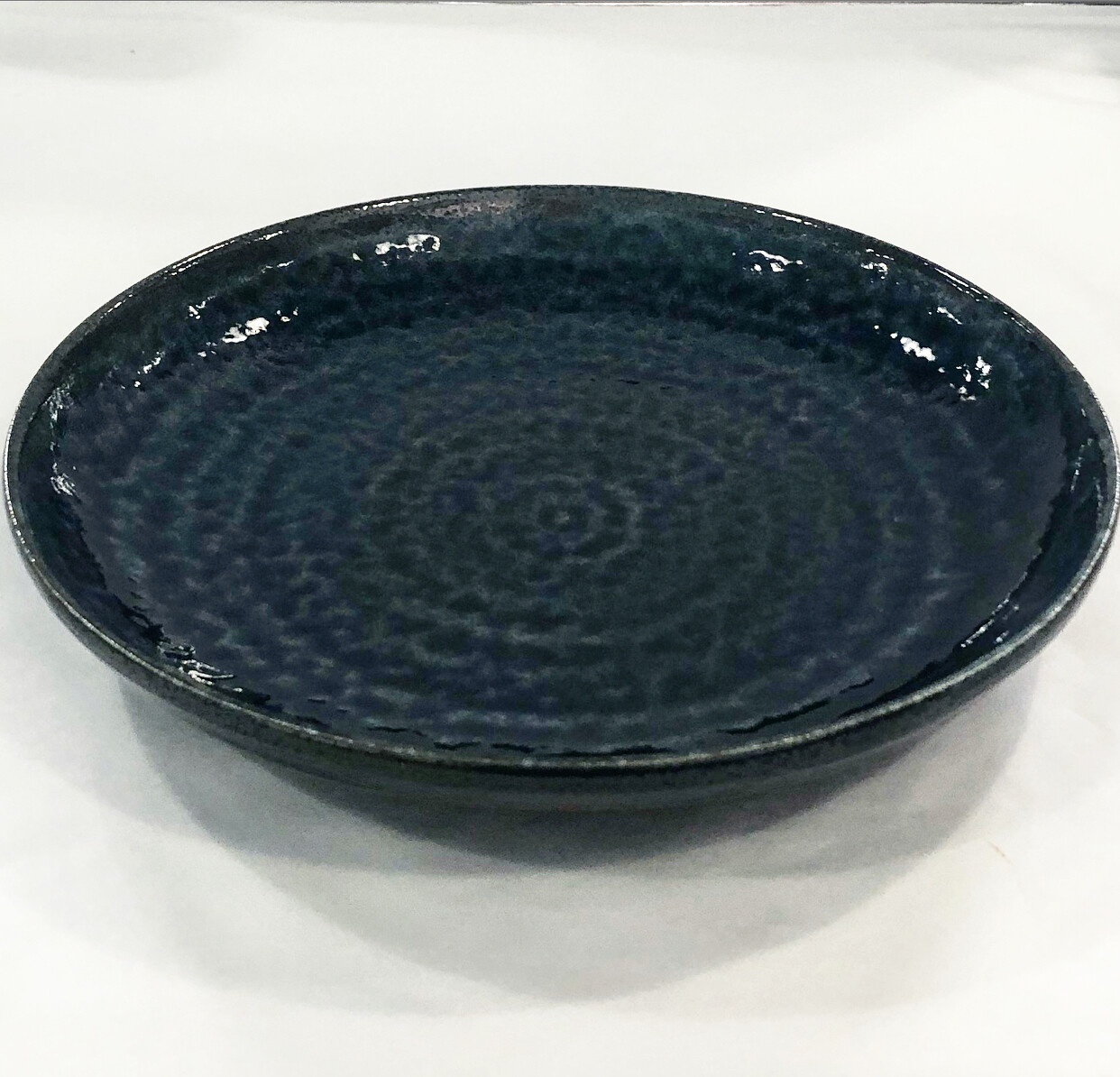 CONCEPT JAPAN  FD28-1BL-IROYU Blue DINNER PLATE  24.5 x 3cm
