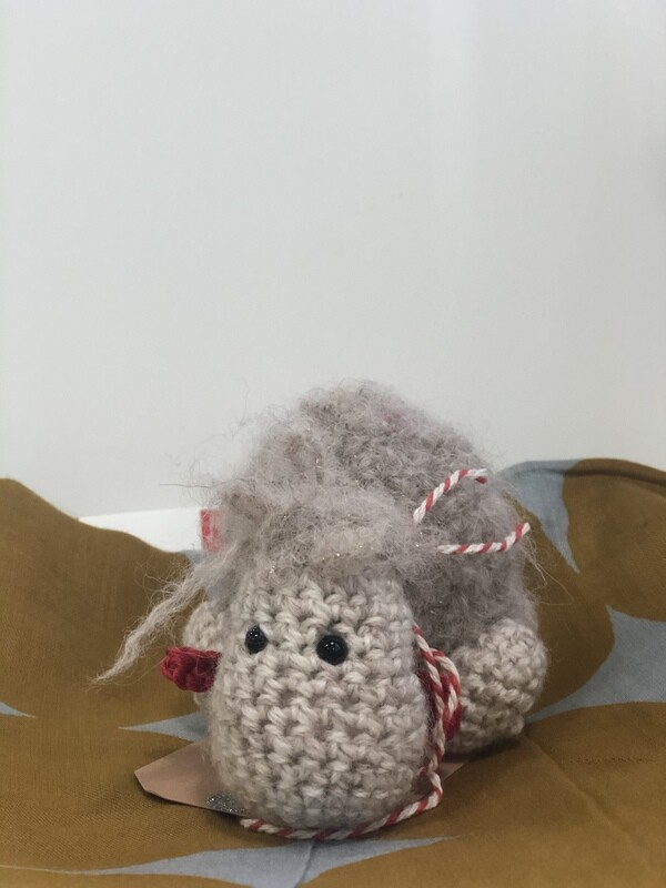 JENNY OCCLESHAW - hand knitted-sheep 13cm