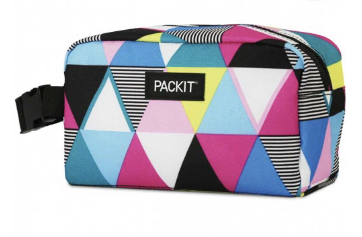 PACKIT - Freezable Snack Box - Triangle Stripes