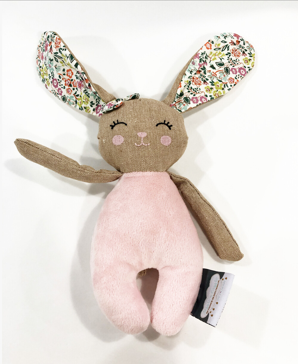BUNNY RATTLE TOY by PILBEAM
