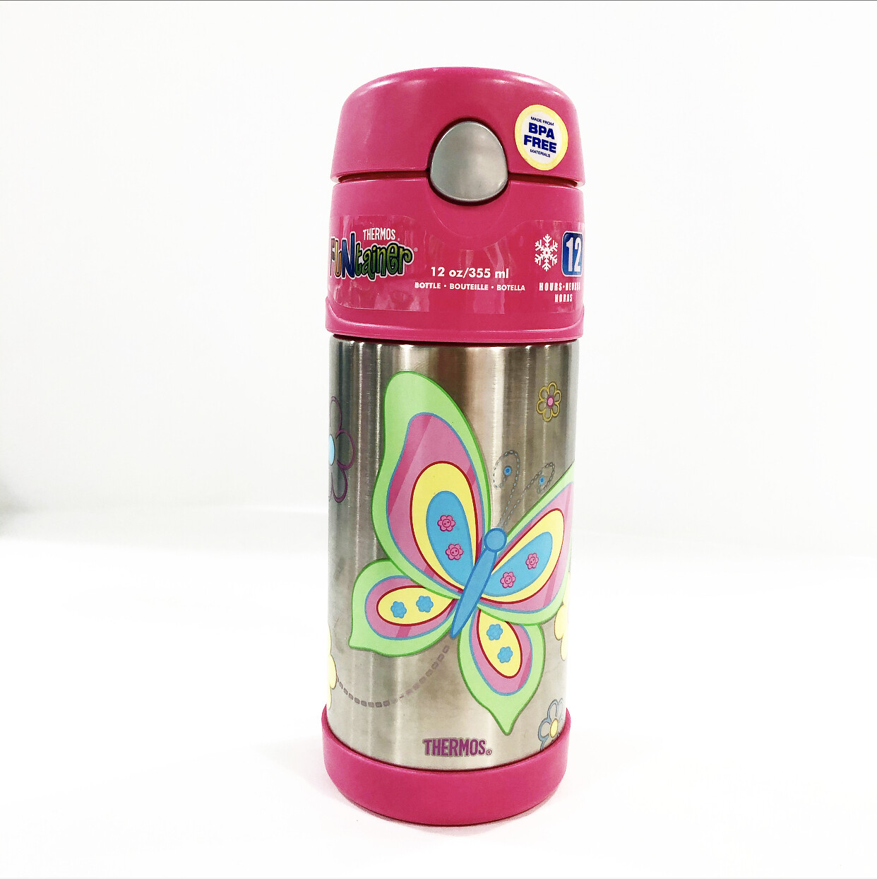 THERMOS  Funtainer     355ml Vacuum Insulated Drink Bottle