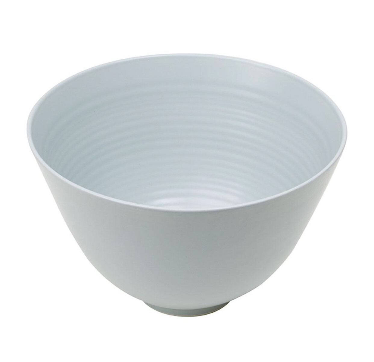 MINT HOME- Willow Large Salad Bowl - MID BLUE