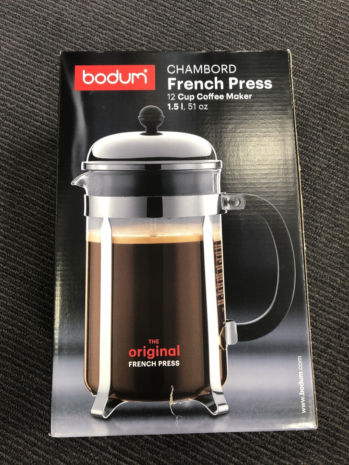 BODUM - French Press 12 Cup Coffee Maker