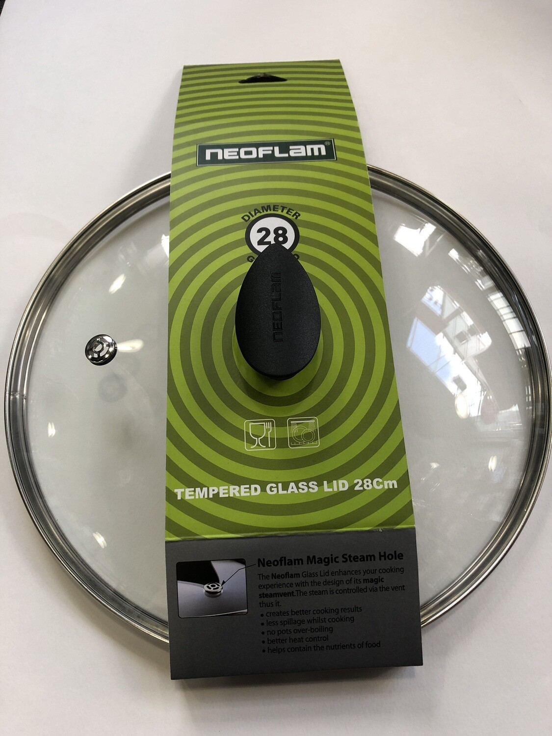 NEOFLAM - Tempered Glass Lid 28cm