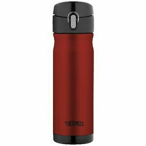 THERMOS -  Stainless Steel 470mL Vacuum Insulated Drink Bottle Red