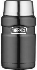 THERMOS -  Stainless Steel Vacuum Food Flask Midnight Blue 710mL