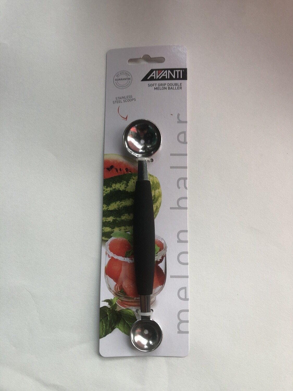 AVANTI - Soft Grip Double Melon Baller