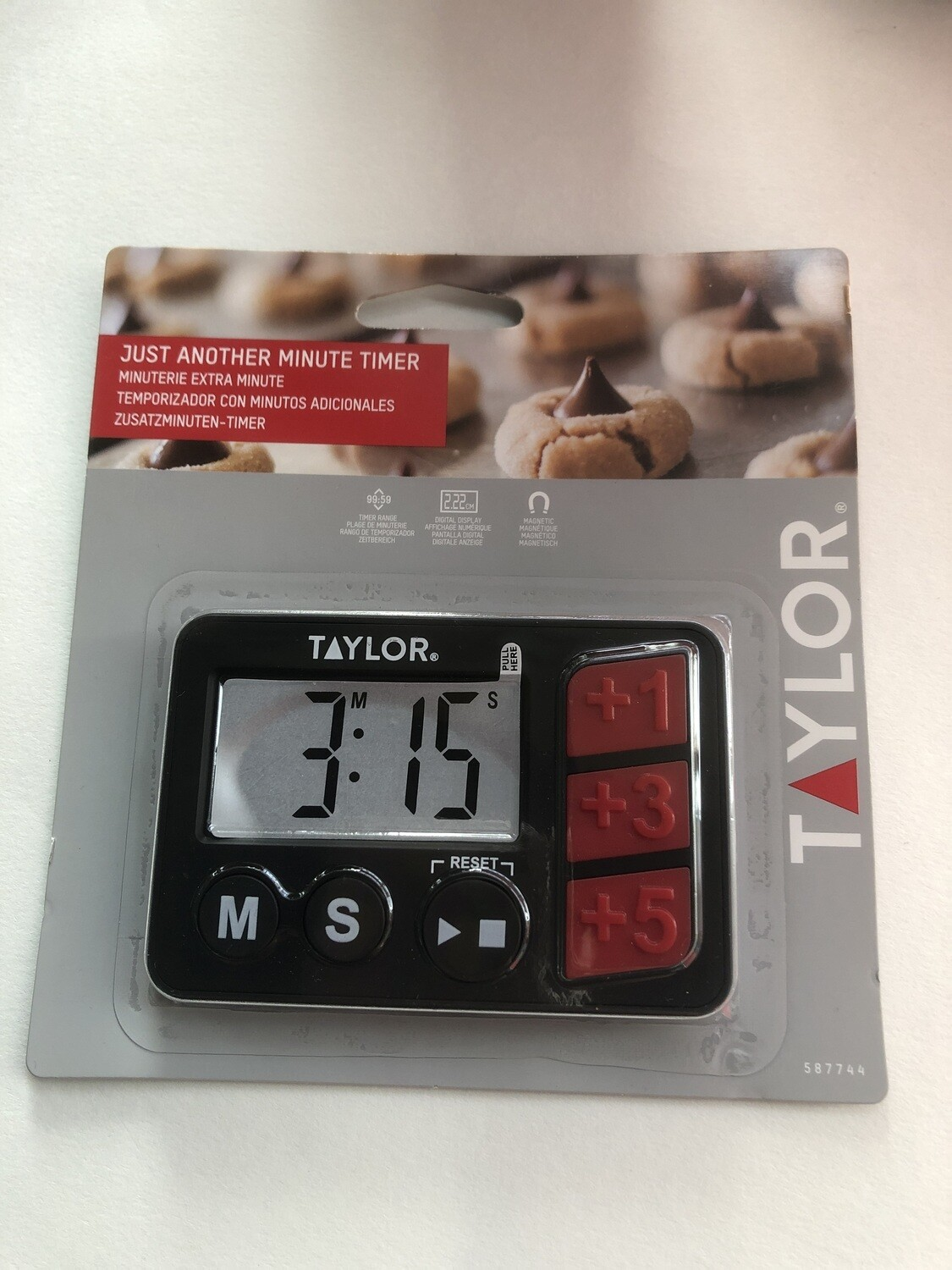 TAYLOR - DIGITAL TIMER ANOTHER MINUTE