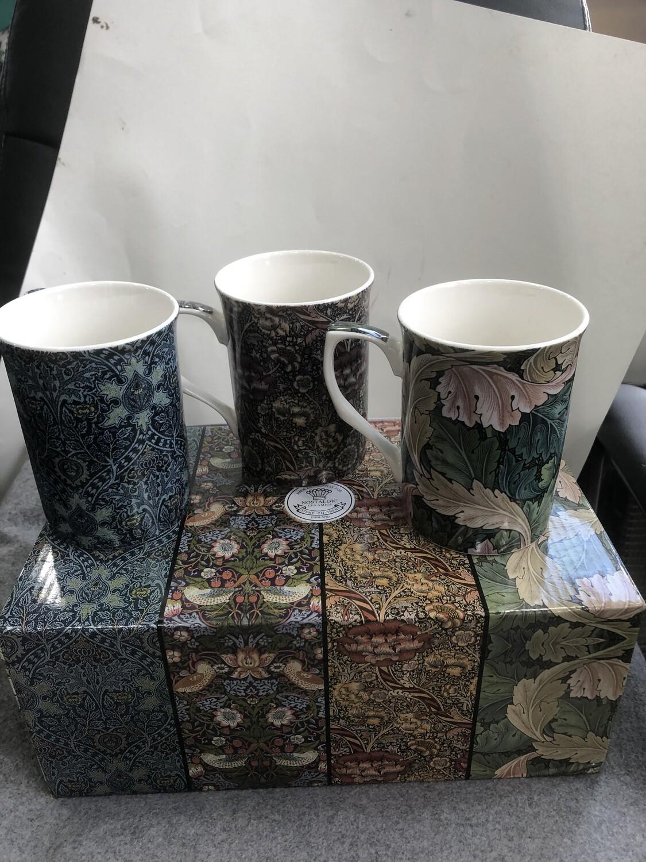 NOSTALGIC CERAMICS - Stoke-On-Trent Set of 6 Mugs  Tapestry Collection