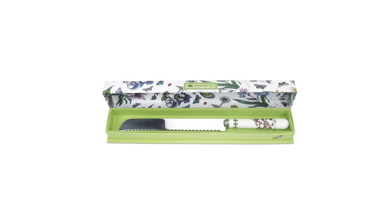 PORTMEIRION Portmeirion Botanic Garden - Bread Knife 34cm