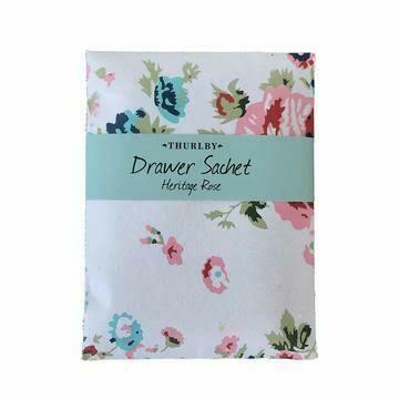 THURLBY - Perfumed Drawer Sachet Heritage Rose