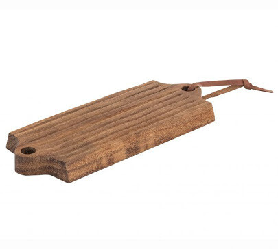 Davis & Waddell Sahara Acacia Wood Rectangular Board with Double Handles