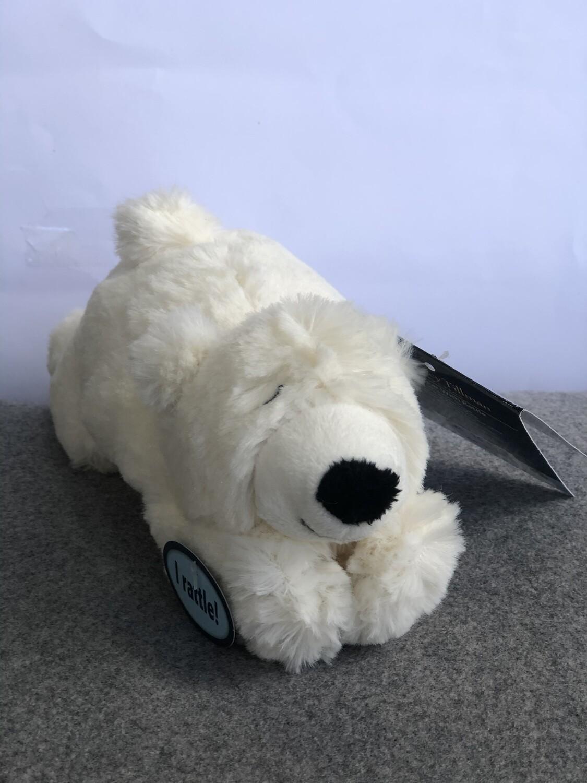 The Nancy Tillman Polar Bear with Rattle