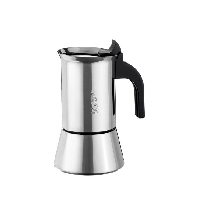 BIALETTI - Venus Stainless Steel Induction Espresso Maker 4 Cup