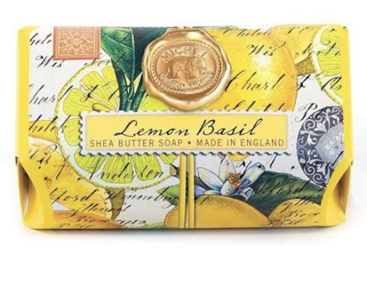 MICHEL DESIGN WORKS - Bath Soap: Lemon Basil