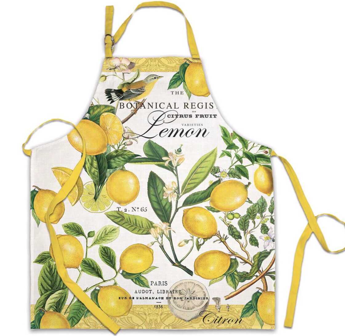 MICHEL DESIGN WORKS - Lemon Basil Apron