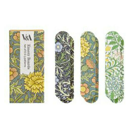 V&A Set Of 6 Printed Emery Boards-Double Bough