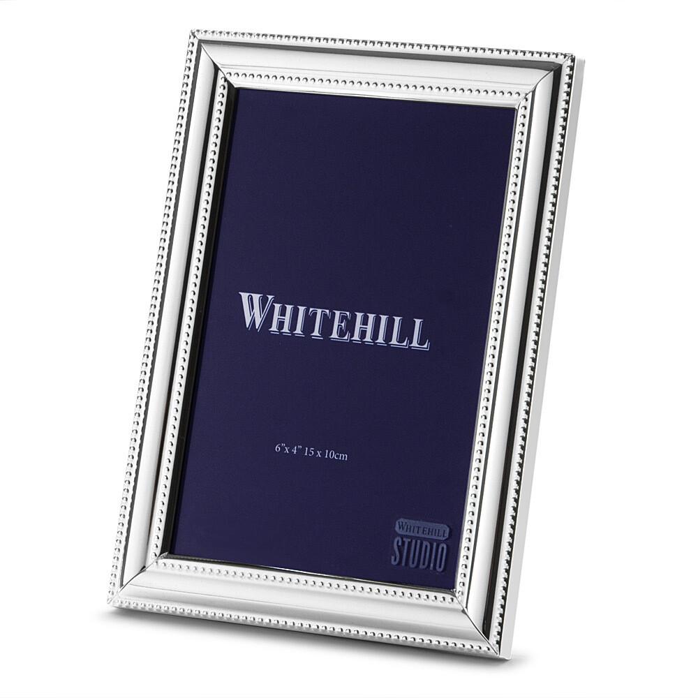 WHITEHILL STUDIO - Beaded SilverPhoto Frame 15x10cm