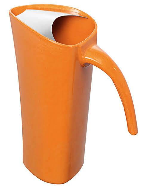 AVANTI -  Zute 1.8L Bamboo Water Pitcher - Orange