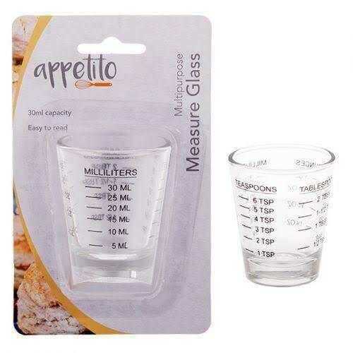 APPETITO - Multipurpose Measure Glass