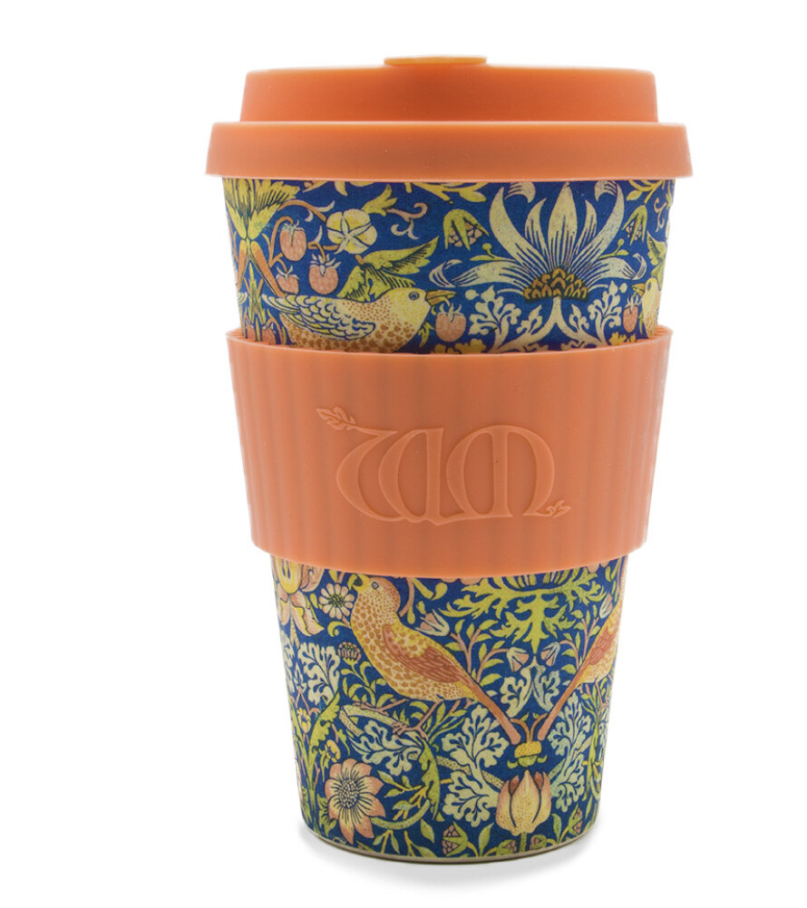 ECOFFEE -Re-usable Bamboo coffee  Cup- THIEF ,14 ounces