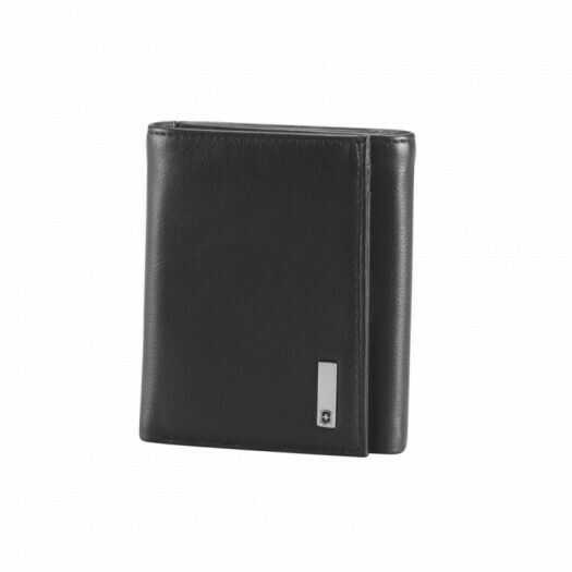 VICTORINOX - Leather Tri-Fold Wallet