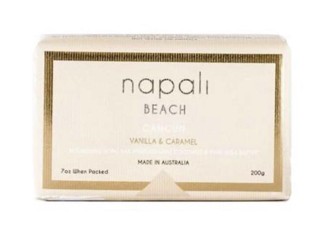 NAPALI BEACH- CANCUN- Soap Bar- Vanilla & Caramel