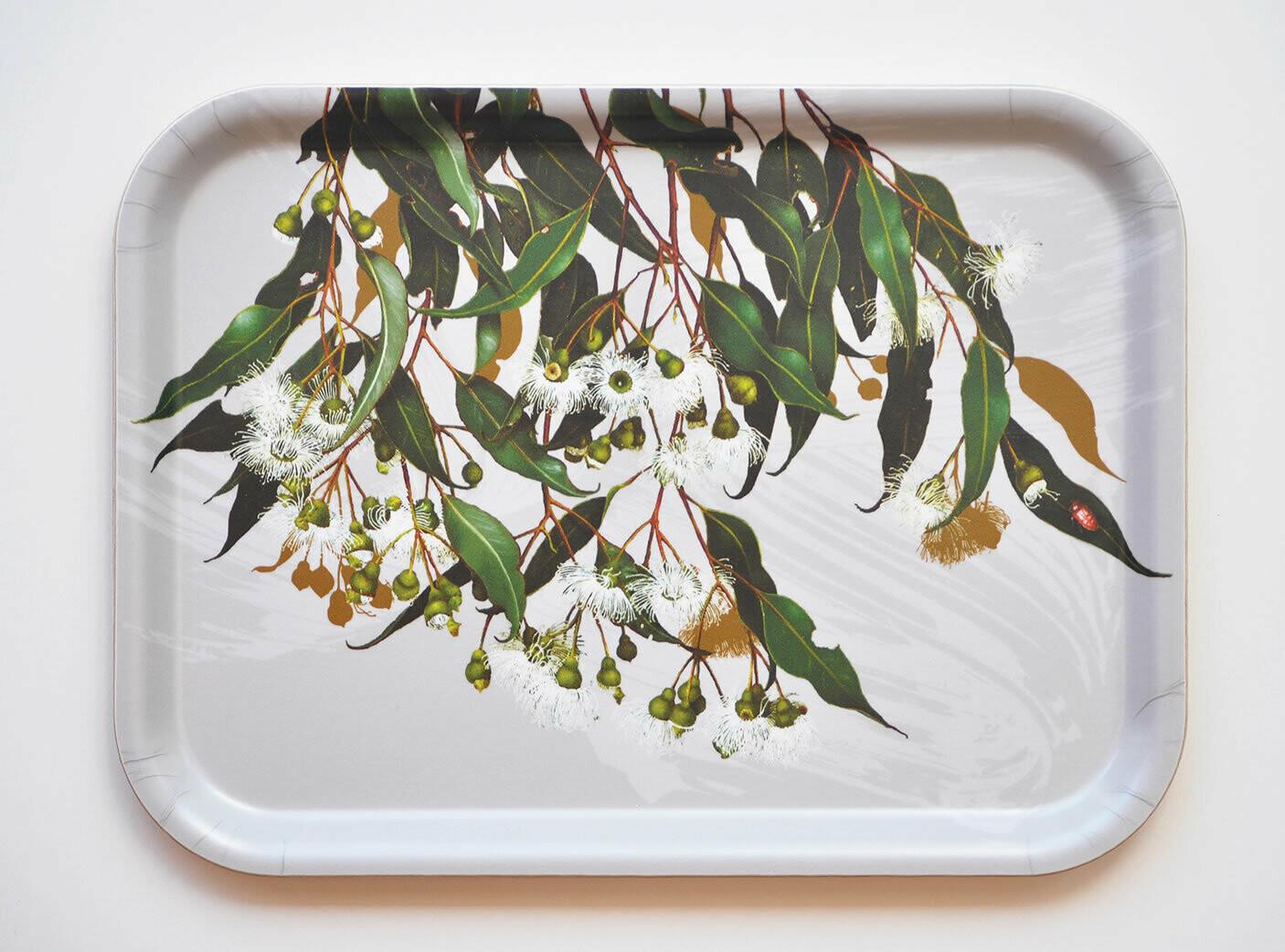 BELL ART - Rectangular Tray - Marri Gum
