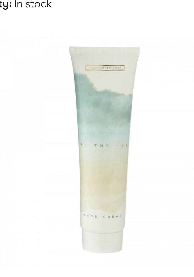 "HEATHCOTE&IVORY -  By The Sea""  Hand Cream (MADE IN UK)- 100ml"