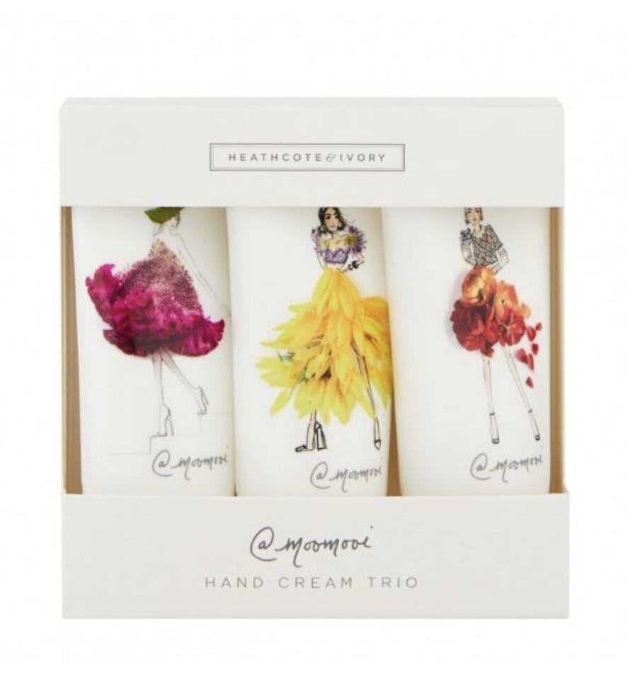 HEATHCOTE & IVORY- #SomeFlowerGirls Hand Cream Trio 3 x 30ml