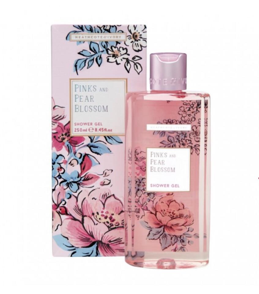 HEATHCOTE&IVORY - Pinks and Pear Blossom Shower-Gel, 250ml