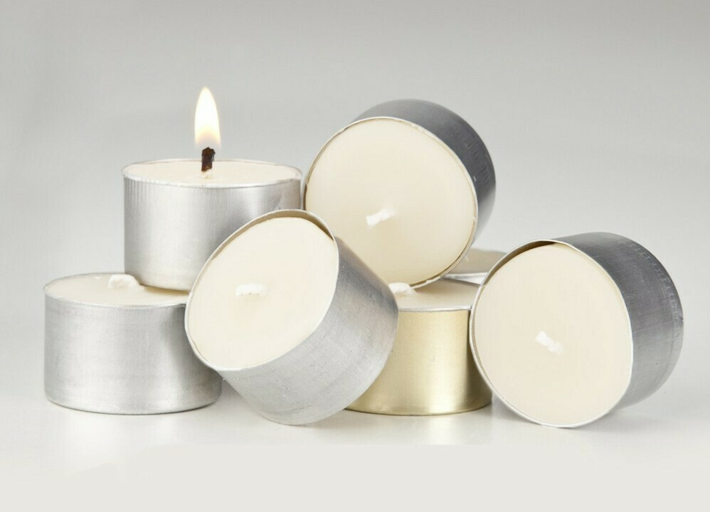 WRIGHT POWER-Beeswax Blend Tealight Candle x 6