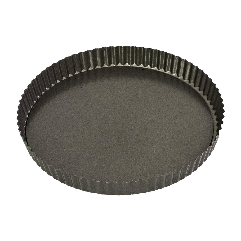 BAKEMASTER- Loose Base Round Flan Tin/Quiche Pan 25cm