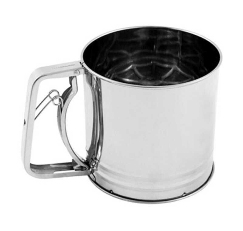 AVANTI-3 Cup Flour Sifter Stainless Steel