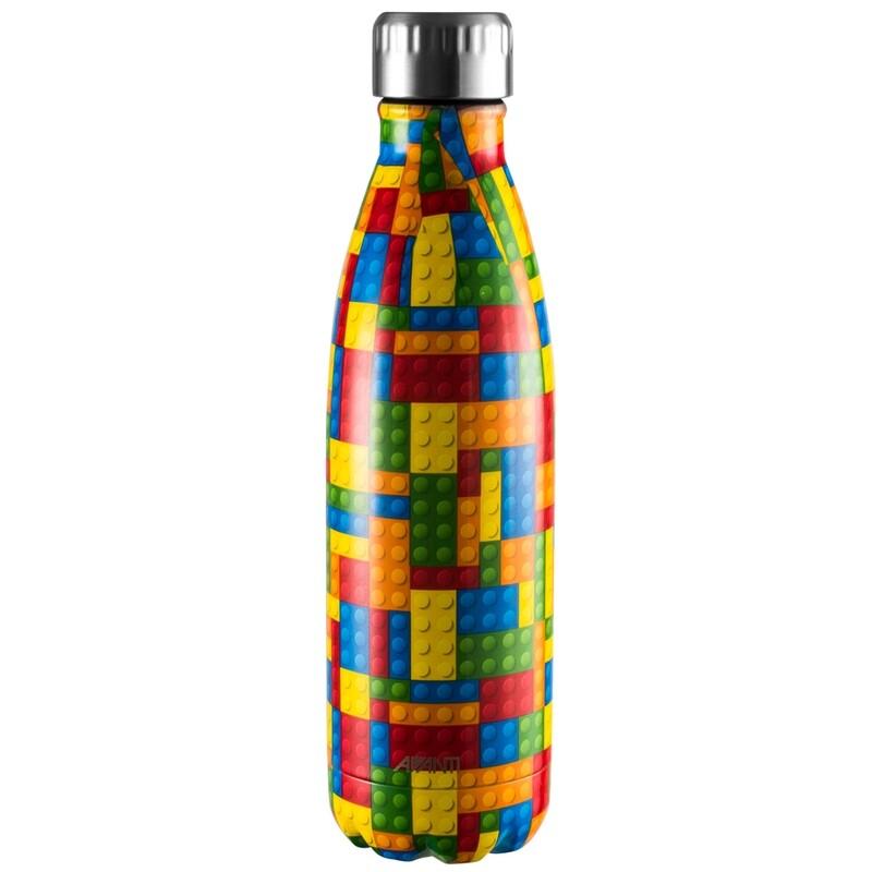 AVANTI - Twin Wall Stainless Steel Insulated Bottle 500mL - Building Bricks