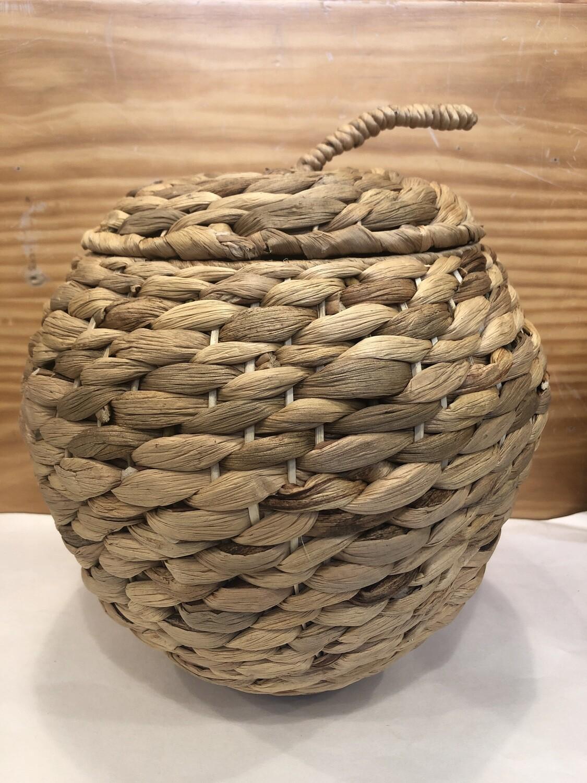 CASA REGALO - Handcrafted 'Apple' Basket  24 x 19cm