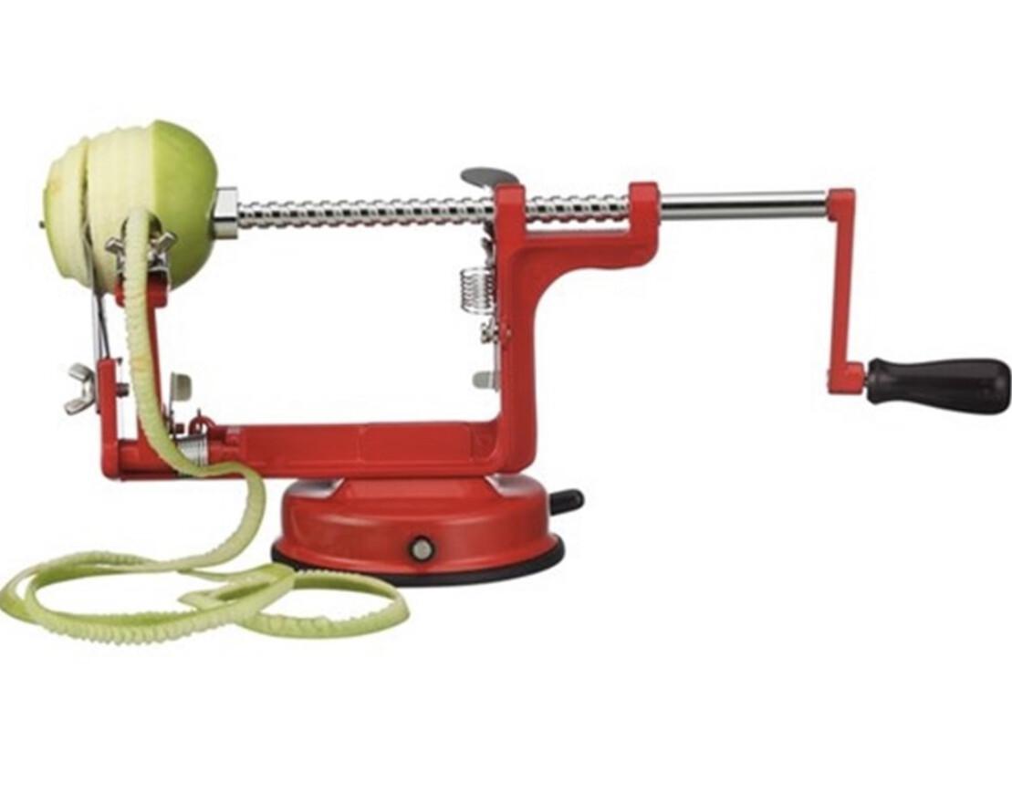 AVANTI- Apple Peeler Corer & Slicer- RED