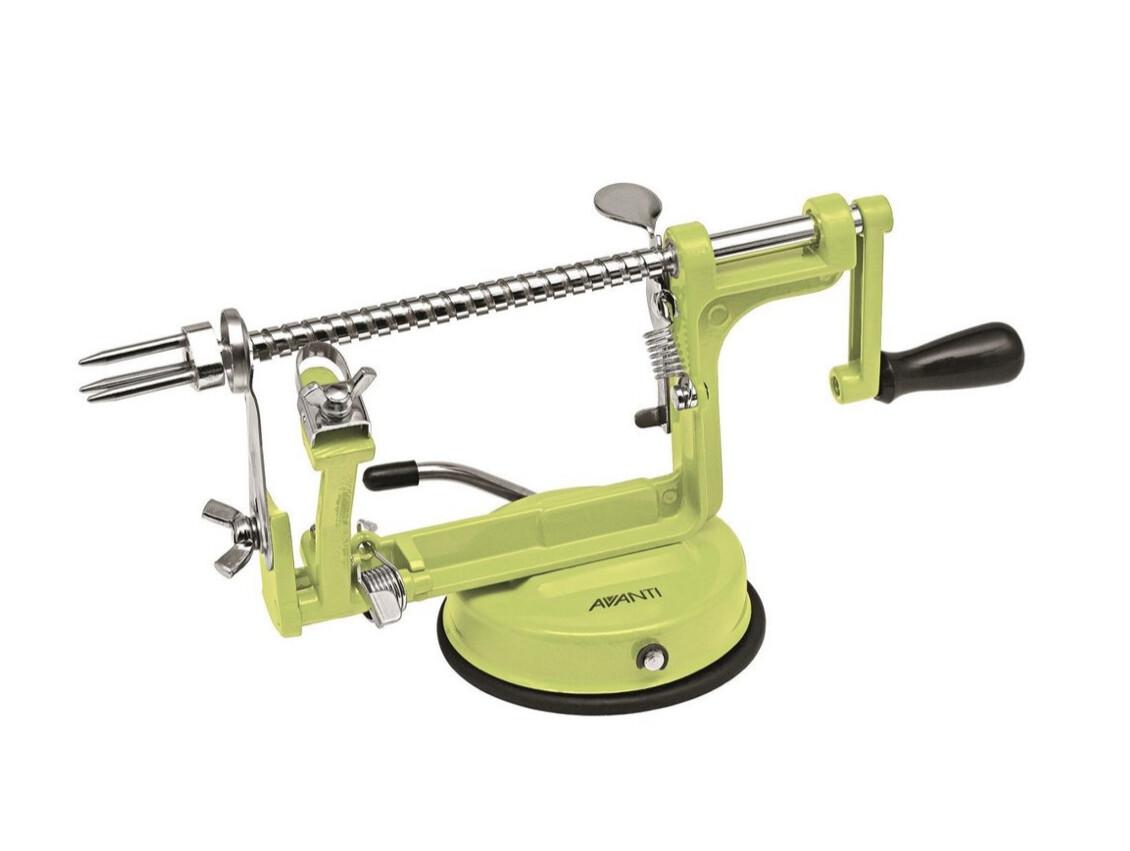 AVANTI- Apple Peeler Corer & Slicer- LIMEGREEN