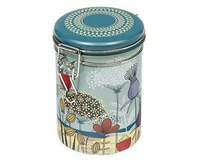 "TINCO- Clip-Lid Tin Caddy-'St Kilda"" Design"