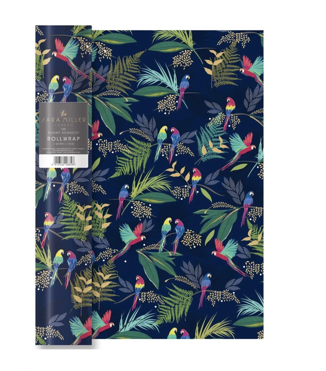 SARA MILLER LONDON - Parrot Wrapping Paper - 68cm x 50cm