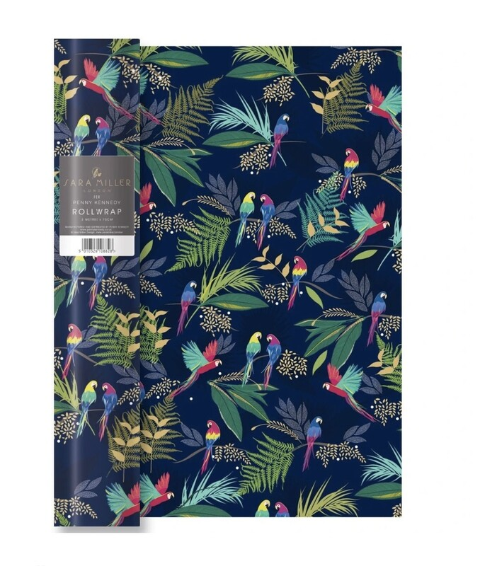 SARA MILLER LONDON - Parrot Wrapping Paper - 68cm x 50cm
