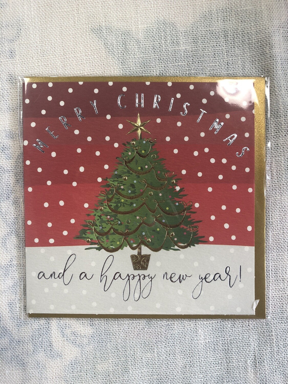 WENDY JONES-BLACKETT - Christmas Tree Card