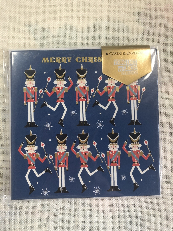 DEMENTIA UK - Nutcracker Merry Christmas Card x 6