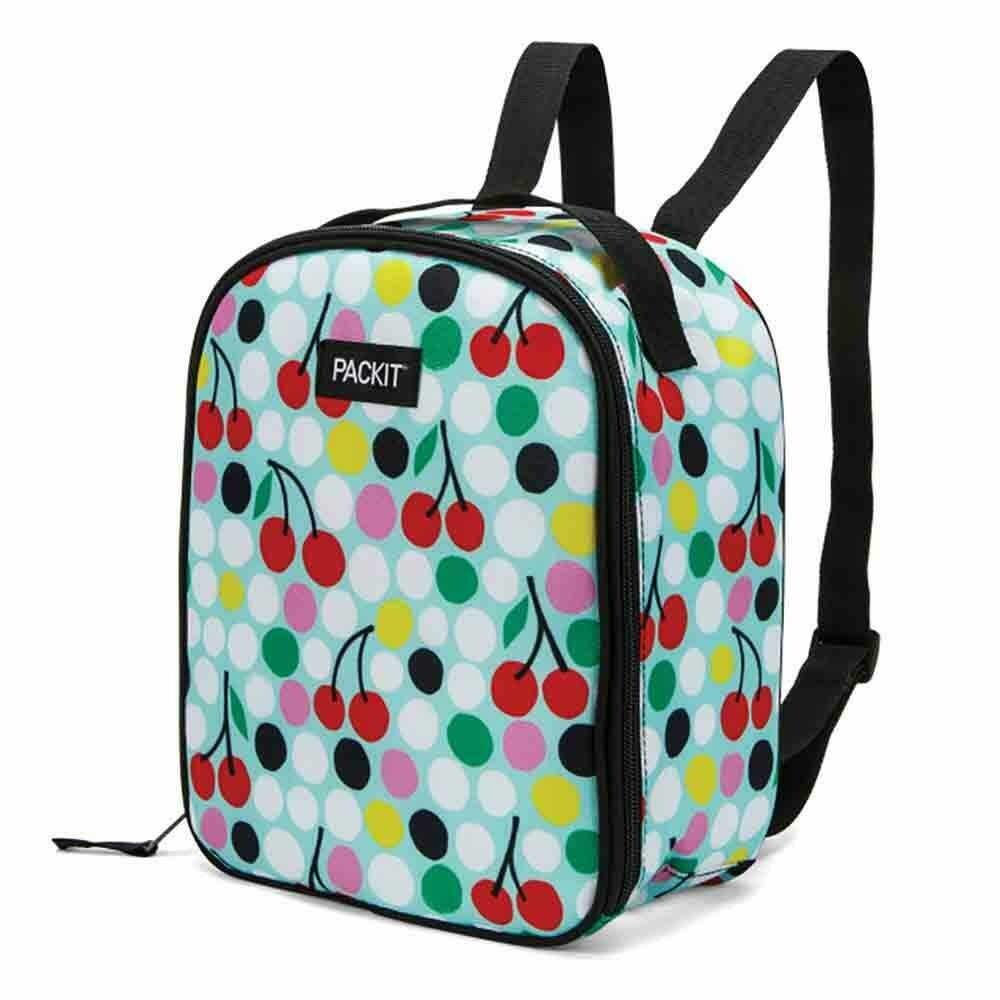 PACKIT - Freezable Kids Backpack - Cherry Dots