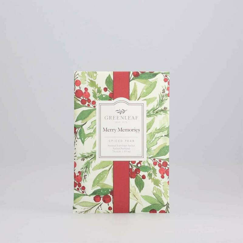 GREENLEAF - Merry Memories Sachet Spiced Pear