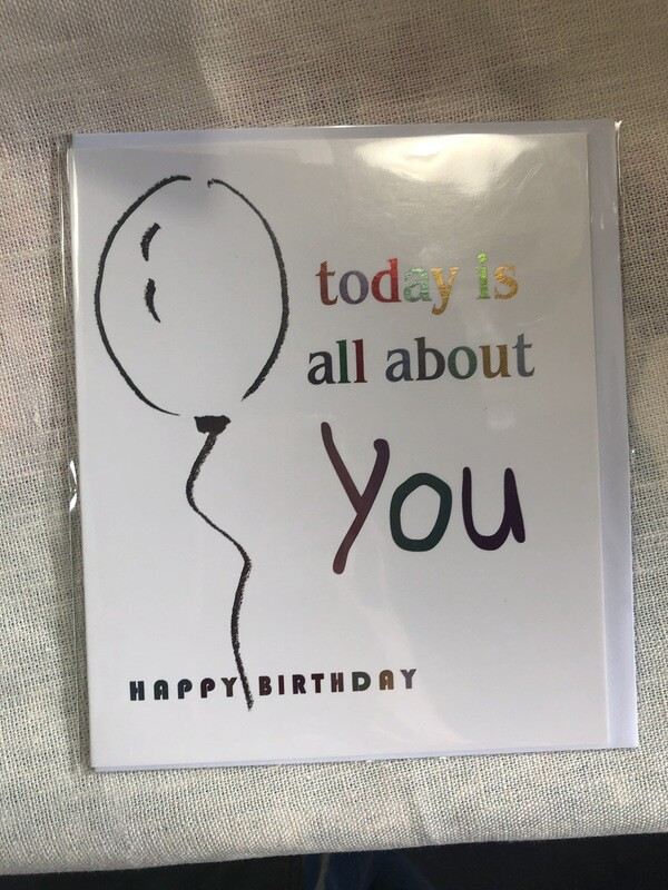 YO - Today is all about you