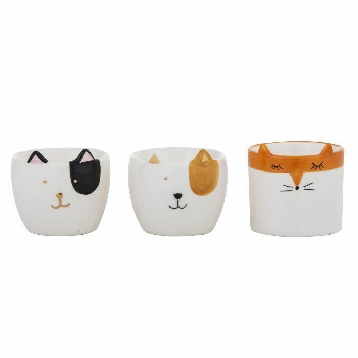 Emporium Animal Egg Cups Assorted