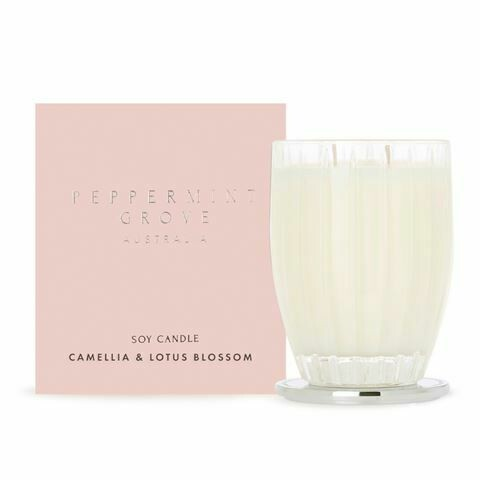PEPPERMINT GROVE-Soy Candle-Camellia & Lotus Blossom - 350g
